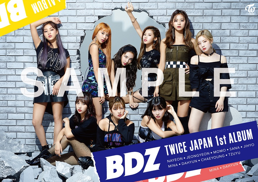 TWICE JAPAN 1st ALBUM「BDZ」