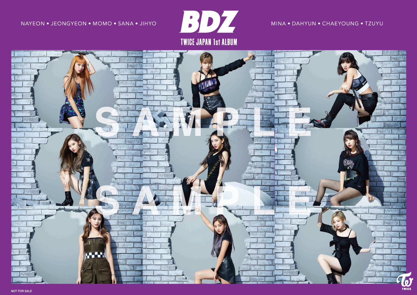 TWICE JAPAN 1st ALBUM「BDZ」