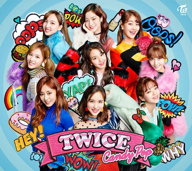 WPZL,31403/4; 価格 ¥1,852(+税); 商品構成  CD+DVD+24p歌詞ブックレット+トレーディングカード(10種からランダムで1枚); DVD収録内容 「Candy Pop」Music