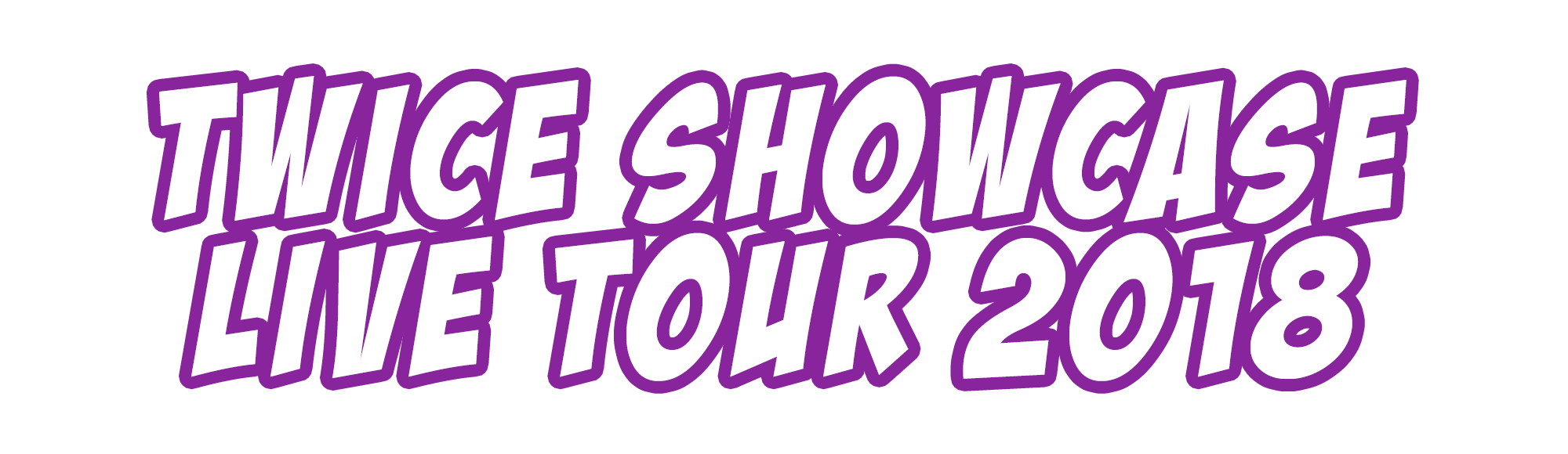 TWICE SHOWCASE LIVE TOUR 2018 開催決定!